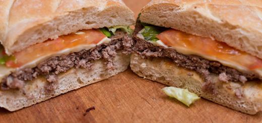 Läbilõige ühest tõeliselt kuivast burgerist