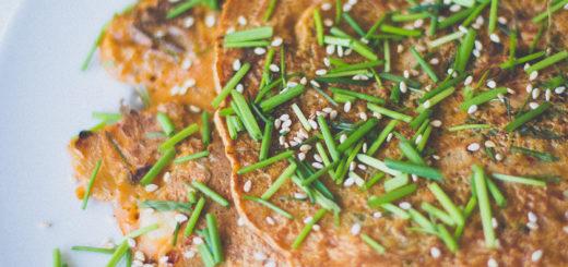 Kimchi pannkook