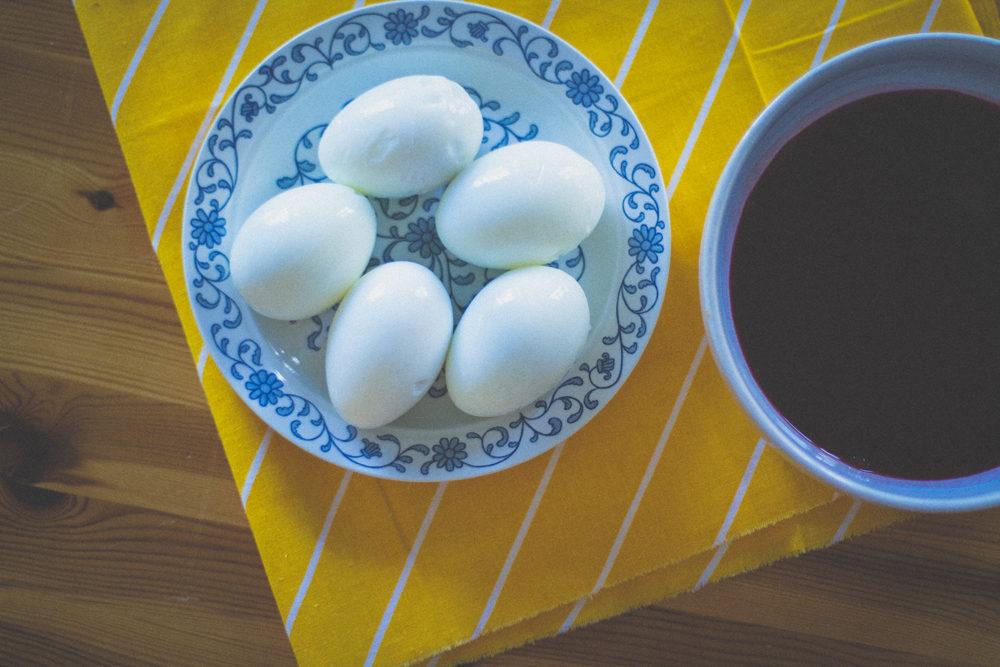 Kooritud munad